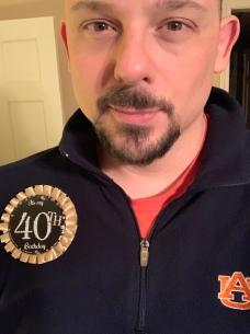 I turned 40.